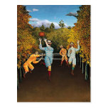Henri Rousseau - Football Players Post Card