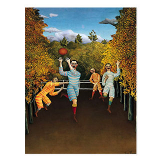 Henri Rousseau - futbolistas Postales