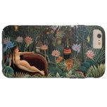 Henri Rousseau la bella arte ideal del vintage Funda De iPhone 6 Plus Tough