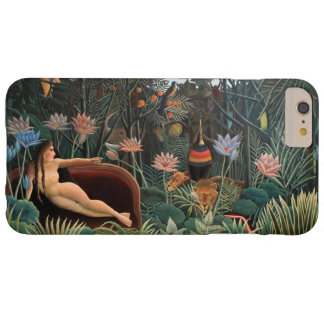 Henri Rousseau la bella arte ideal del vintage Funda Para iPhone 6 Plus Barely There