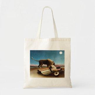Henri Rousseau la bolsa de asas gitana el dormir