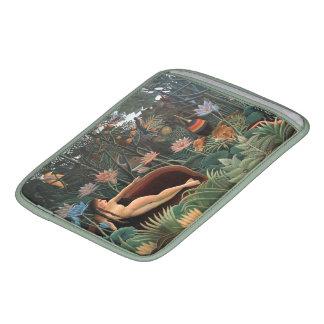 Henri Rousseau la selva del sueño florece arte ing Fundas Para iPads