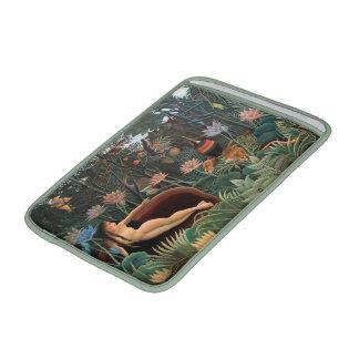Henri Rousseau la selva del sueño florece arte ing Fundas Macbook Air