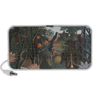 Henri Rousseau la selva del sueño florece la Altavoz De Viajar