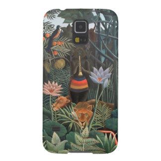 Henri Rousseau la selva del sueño florece surreali Carcasas De Galaxy S5