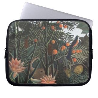 Henri Rousseau la selva del sueño florece surreali Funda Ordendadores