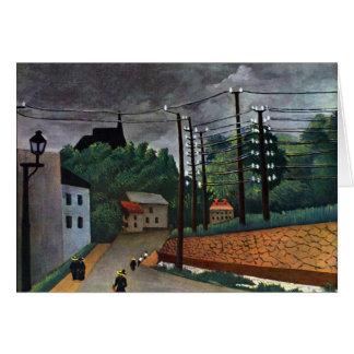 Henri Rousseau - Malakoff Stationery Note Card
