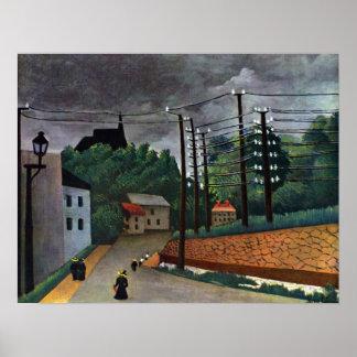 Henri Rousseau - Malakoff Poster