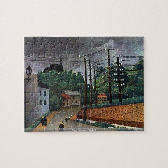 Henri Rousseau - Malakoff puzzle