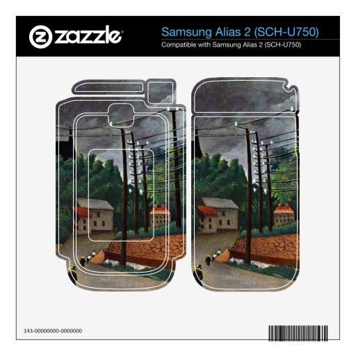 Henri Rousseau - Malakoff Samsung Alias 2 Skins