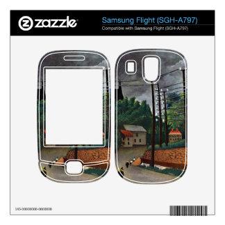 Henri Rousseau - Malakoff Decal For Samsung Flight