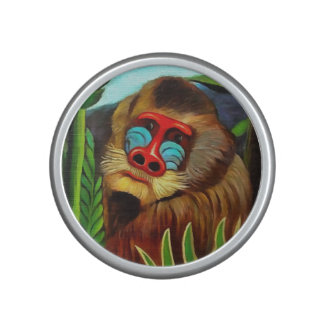 Henri Rousseau Mandrill In The Jungle Vintage Art Speaker