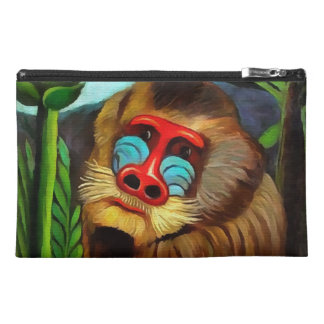 Henri Rousseau Mandrill In The Jungle Vintage Art Travel Accessory Bag