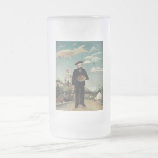 Henri Rousseau - mismo Jarra De Cerveza Esmerilada