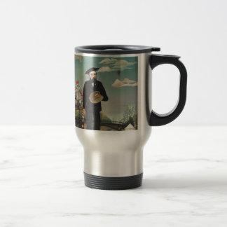 Henri Rousseau - Myself 15 Oz Stainless Steel Travel Mug
