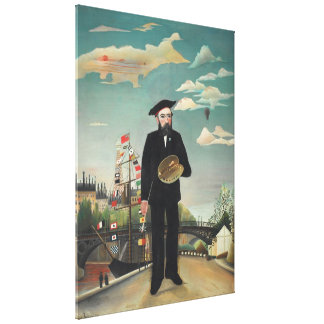 Henri Rousseau - Myself Gallery Wrap Canvas