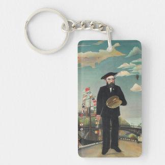 Henri Rousseau - Myself Keychain