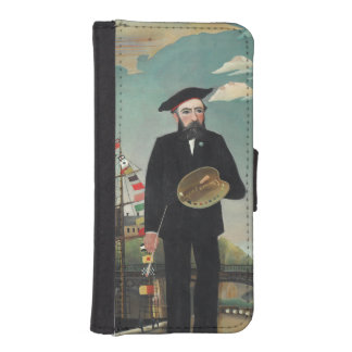 Henri Rousseau - Myself iPhone 5 Wallets