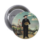 Henri Rousseau Painting 2 Inch Round Button