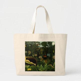 Henri Rousseau Painting Bags