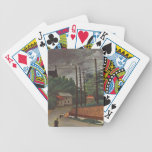 Henri Rousseau Painting Bicycle Playing Cards