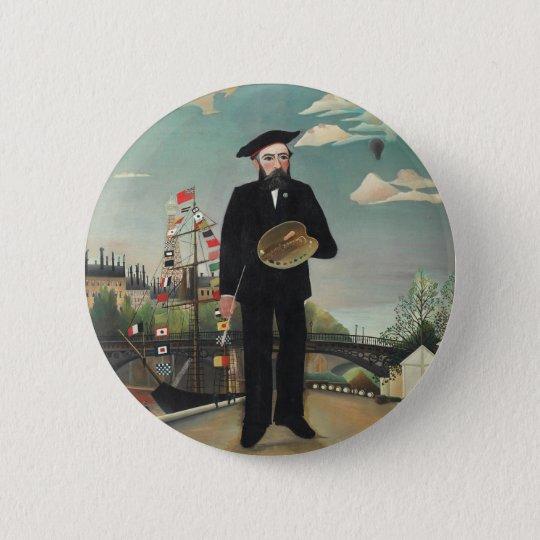Henri Rousseau Painting Button
