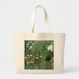 Henri Rousseau Painting Canvas Bags