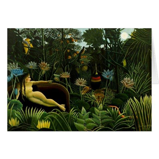 Henri Rousseau Painting Card