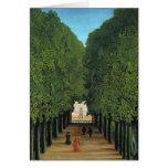 Henri Rousseau Painting Greeting Card