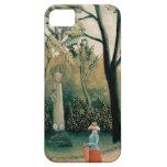 Henri Rousseau Painting iPhone 5 Cases