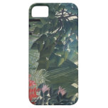 Henri Rousseau Painting iPhone 5 Cover