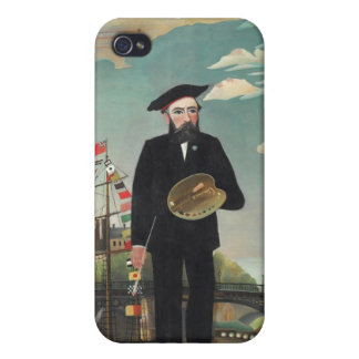 Henri Rousseau Painting iPhone 4/4S Cover