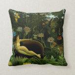 Henri Rousseau Painting Pillow
