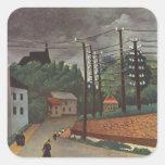 Henri Rousseau Painting Stickers