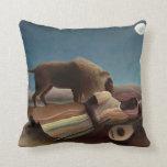 Henri Rousseau Painting Throw Pillows