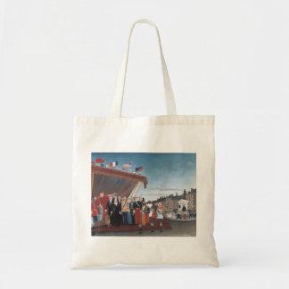 Henri Rousseau Painting Tote Bag