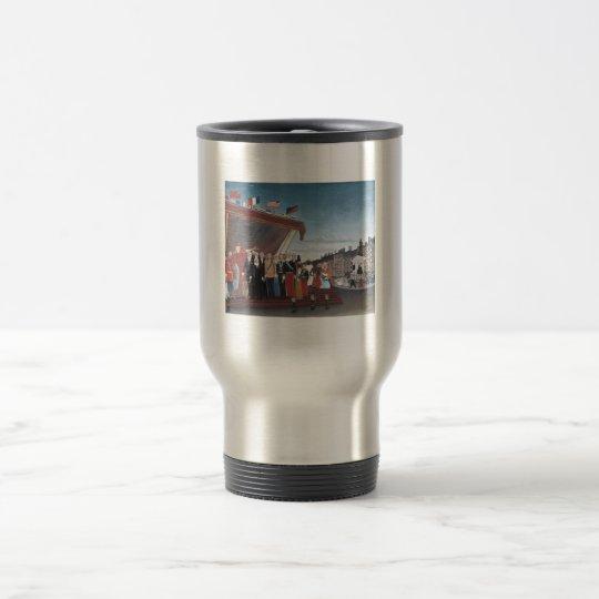 Henri Rousseau Painting Travel Mug