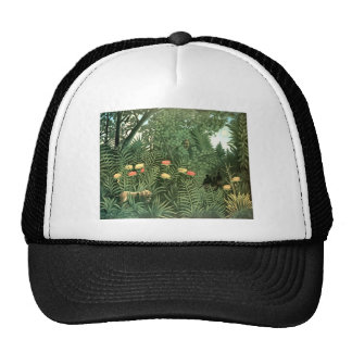 Henri Rousseau Painting Trucker Hat