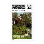 Henri Rousseau - paisaje de la selva