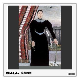 Henri Rousseau- Portrait of a Woman Wall Decal