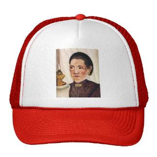 Henri Rousseau- Portrait of Josephine Trucker Hat