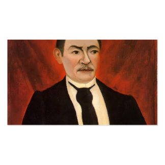 Henri Rousseau- Portrait of Monsieur S Business Card