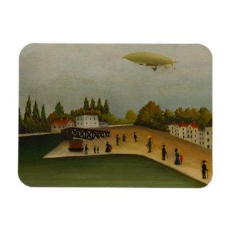 Henri Rousseau - Quai d'Ivry Rectangular Photo Magnet