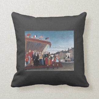 Henri Rousseau-Salution to Republic for Peace Pillow