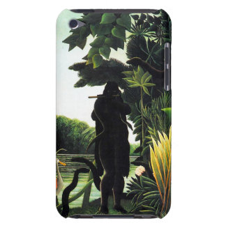 Henri Rousseau Snake Charmer iPod Case iPod Touch Cases