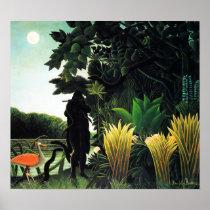 Henri Rousseau Snake Charmer Poster