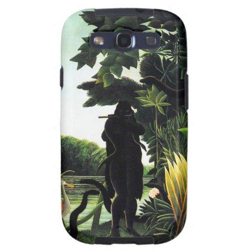 Henri Rousseau Snake Charmer Samsung Galaxy 3 Case Samsung Galaxy SIII Covers