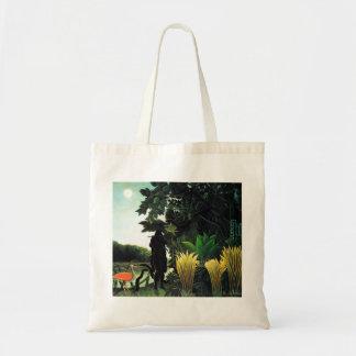 Henri Rousseau Snake Charmer Tote Bag