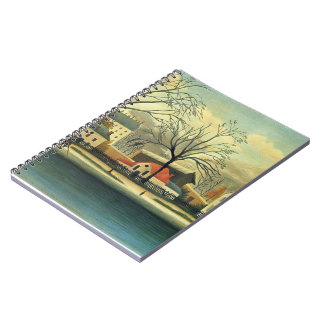 Henri Rousseau- Suburban Scene Note Books