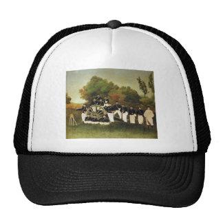 Henri Rousseau- The Artillerymen Trucker Hat